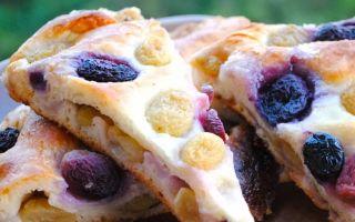 Невероятный «Тосканский пирог с виноградом»