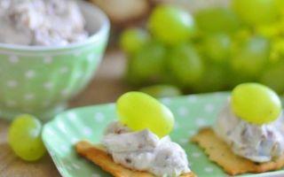 Десерты из Рикотты с виноградом