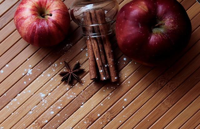 яблоко корица