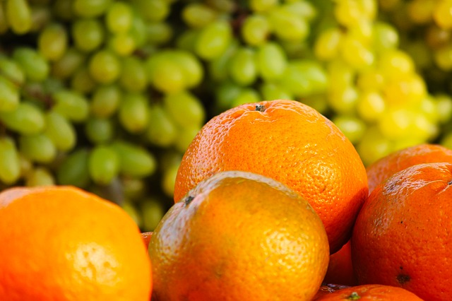 апельсин виноград