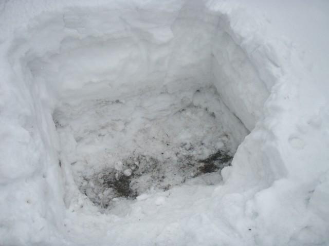 снеговая яма