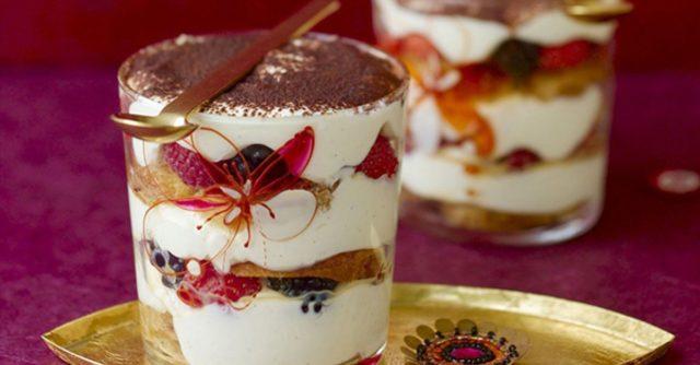 творожный десерт в стакане