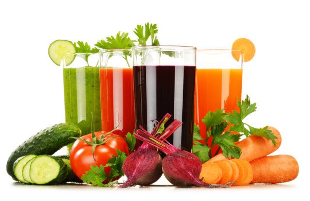 напитки с овощами