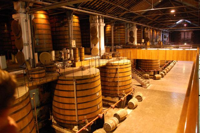 вино в промышленных условиях